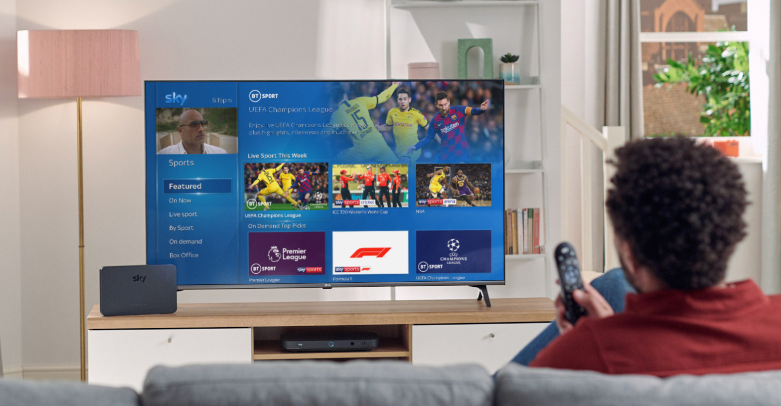 Sky launches new packages with BT Sport