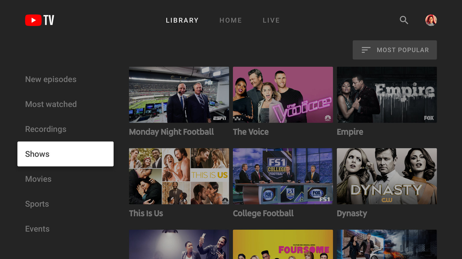 YouTube TV adds 20K and offline downloads at US$20 premium ...