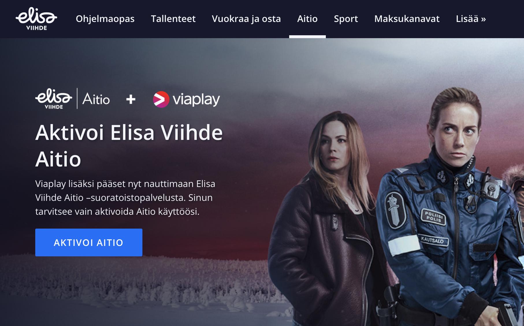 Elisa Viihde Netflix