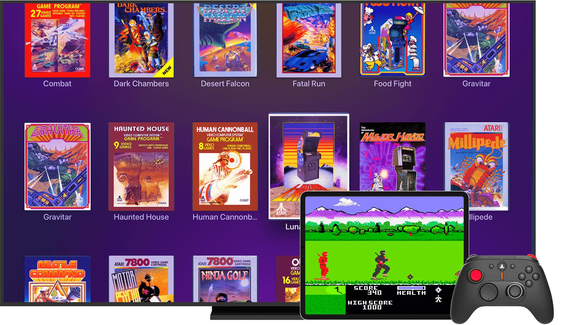 Plex's New Atari Retro Arcade Subscription Looks Awesome