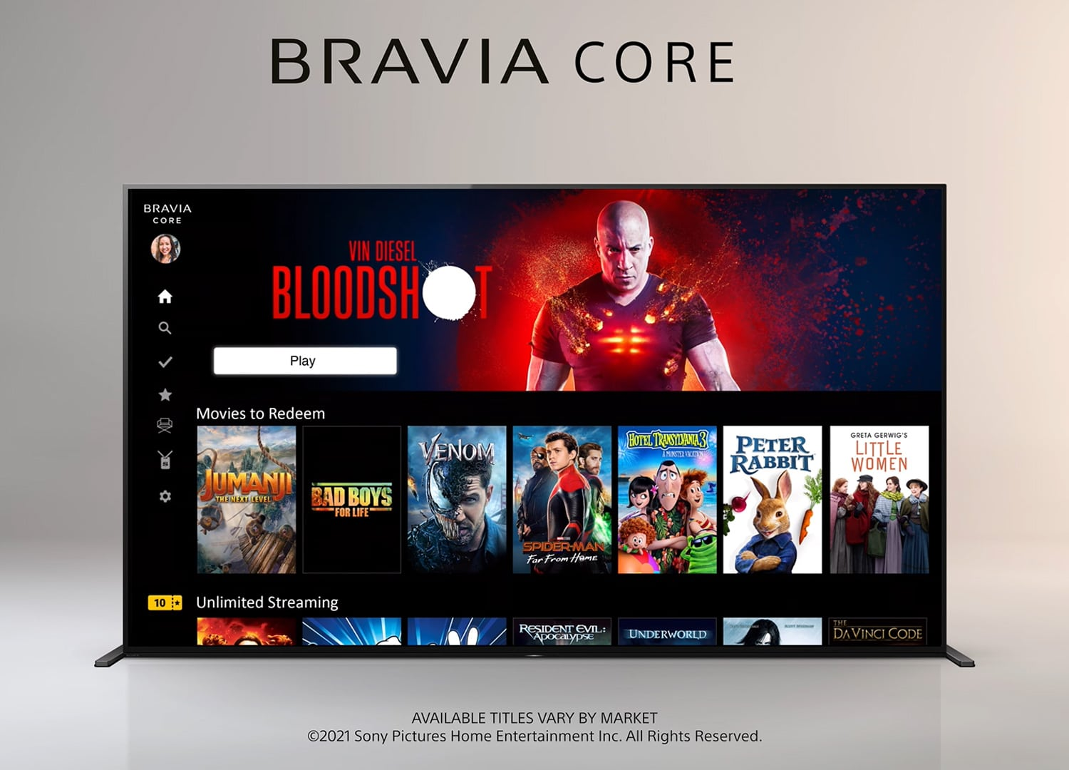 Sony's Bravia Core streaming service will deliver video comparable to Blu-ray