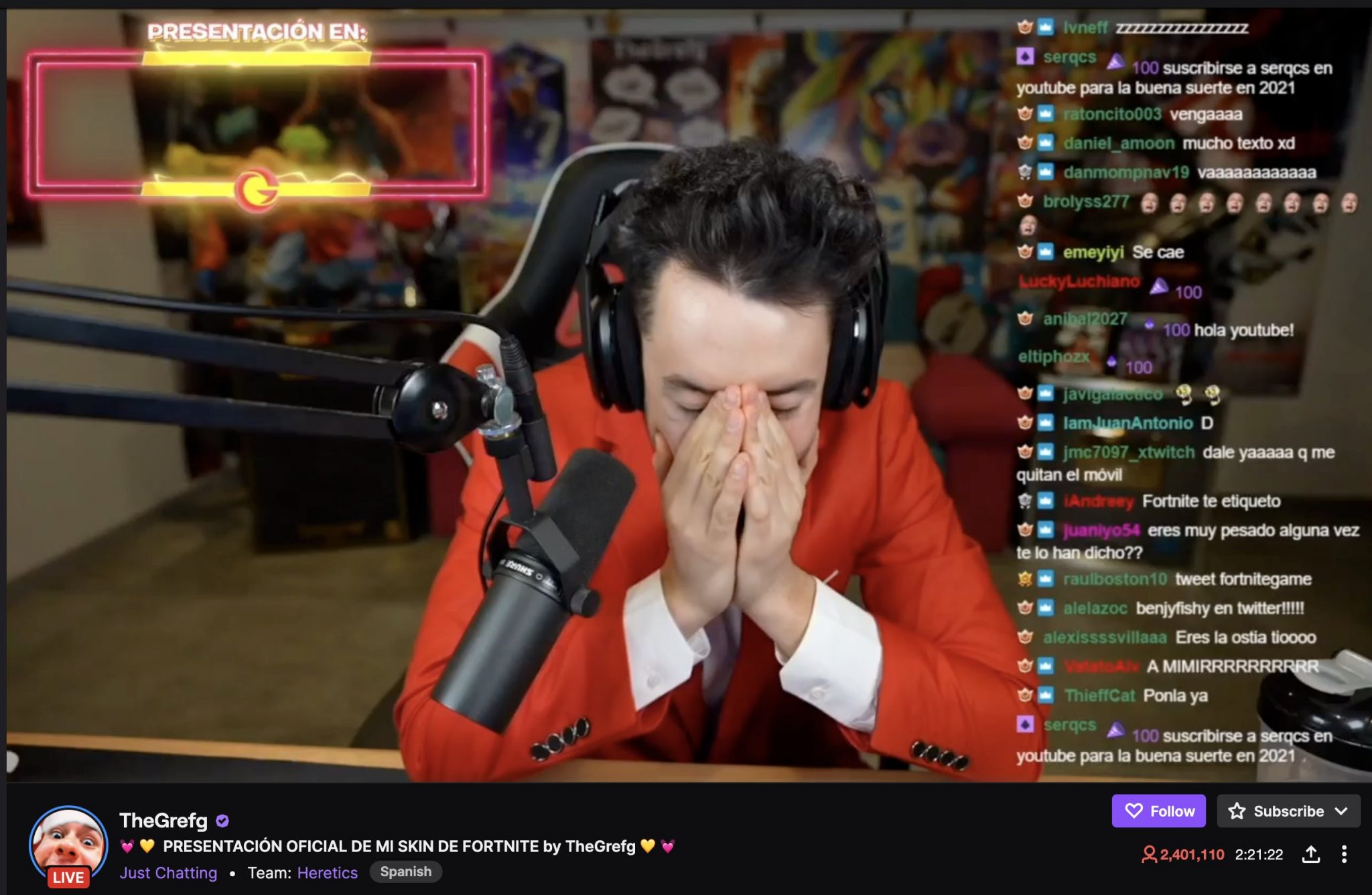 Twitch streamer TheGrefg sets new record of 2.4 million concurrent viewers - Digital TV Europe