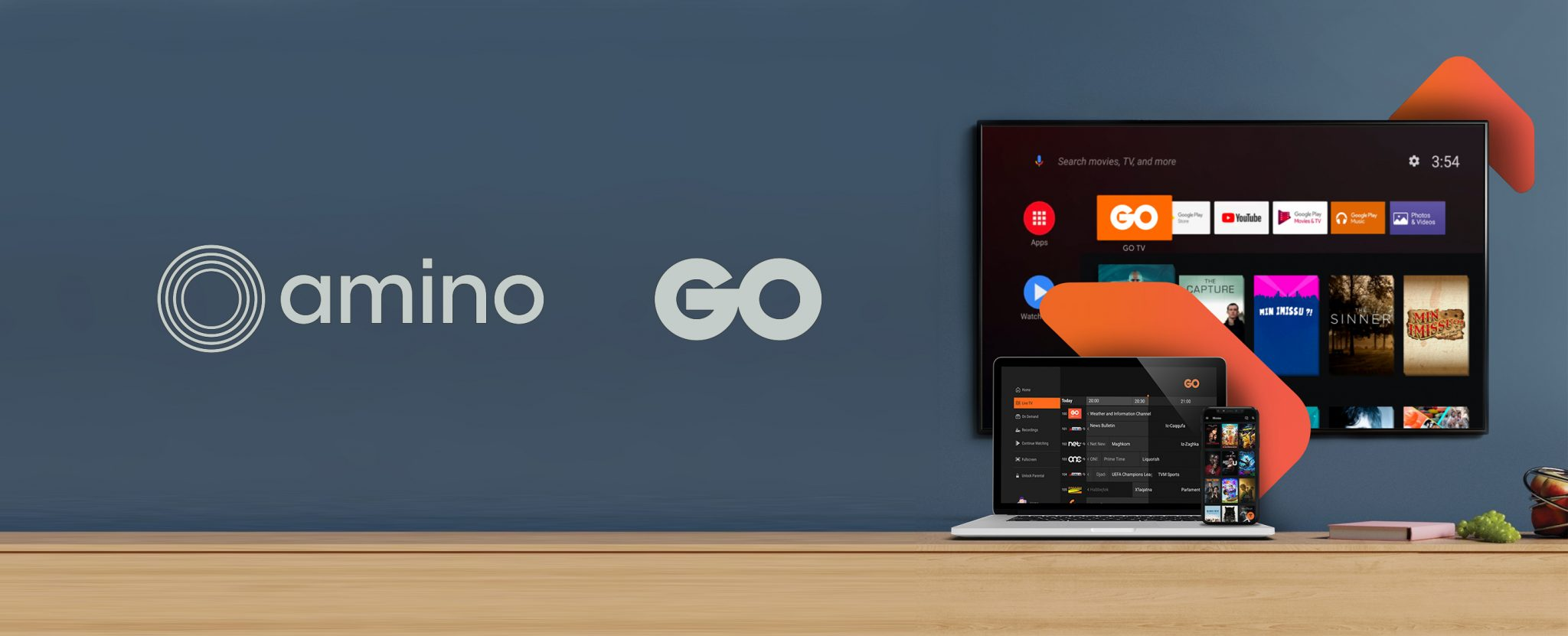GO Malta taps Amino for Android TV-enabled OTT offering