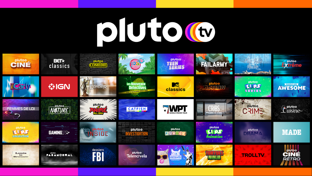 Pluto TV launches in France – Digital TV Europe