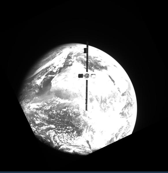 Northrop Grumman mission extends life of Intelsat 1° West satellite